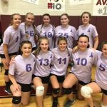 Girls Junior Varsity Volleyball beats Brethren 2 – 0