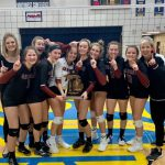 Girls Varsity Volleyball Wins Districts!