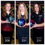 Girls Varsity Bowling beats Traverse City West JV 30 – 0