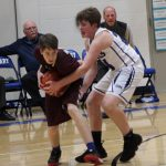 Jv Sabres fall to St Mary's Eagles 54-45