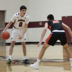 Sabres hang tough with Elks in 56-49 loss