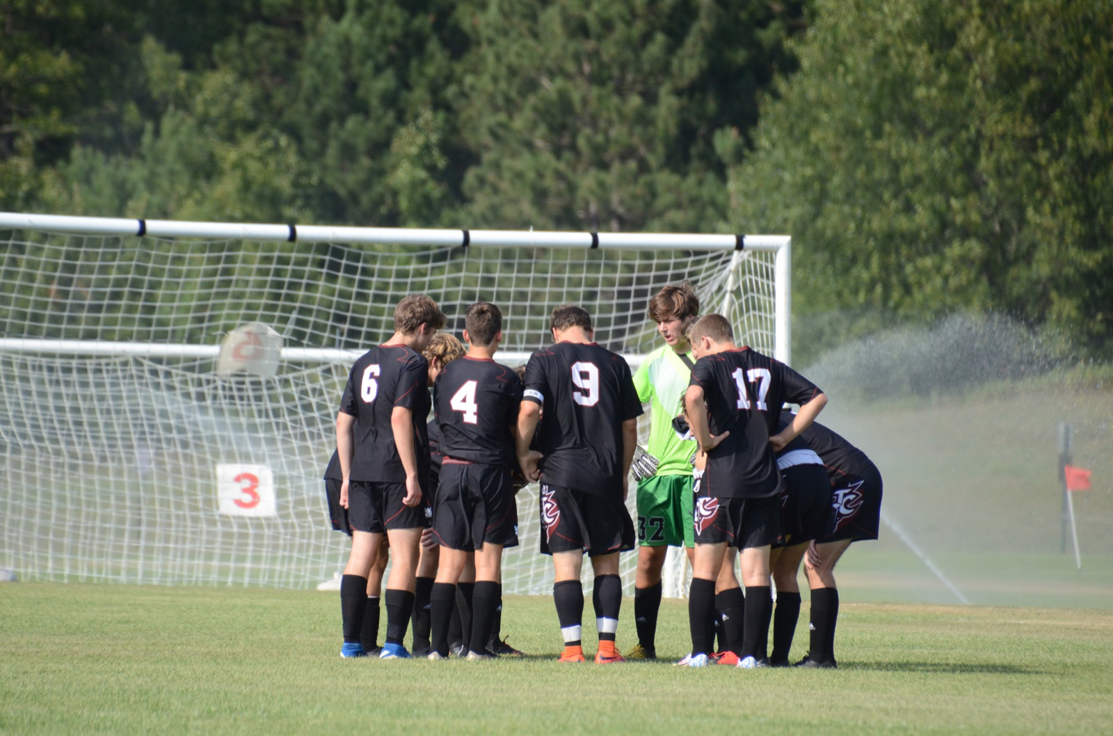 Varsity Boys Soccer vs Glen Lake 8/21