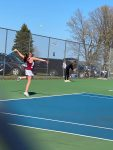 Girls Varsity Tennis Falls to Elk Rapids