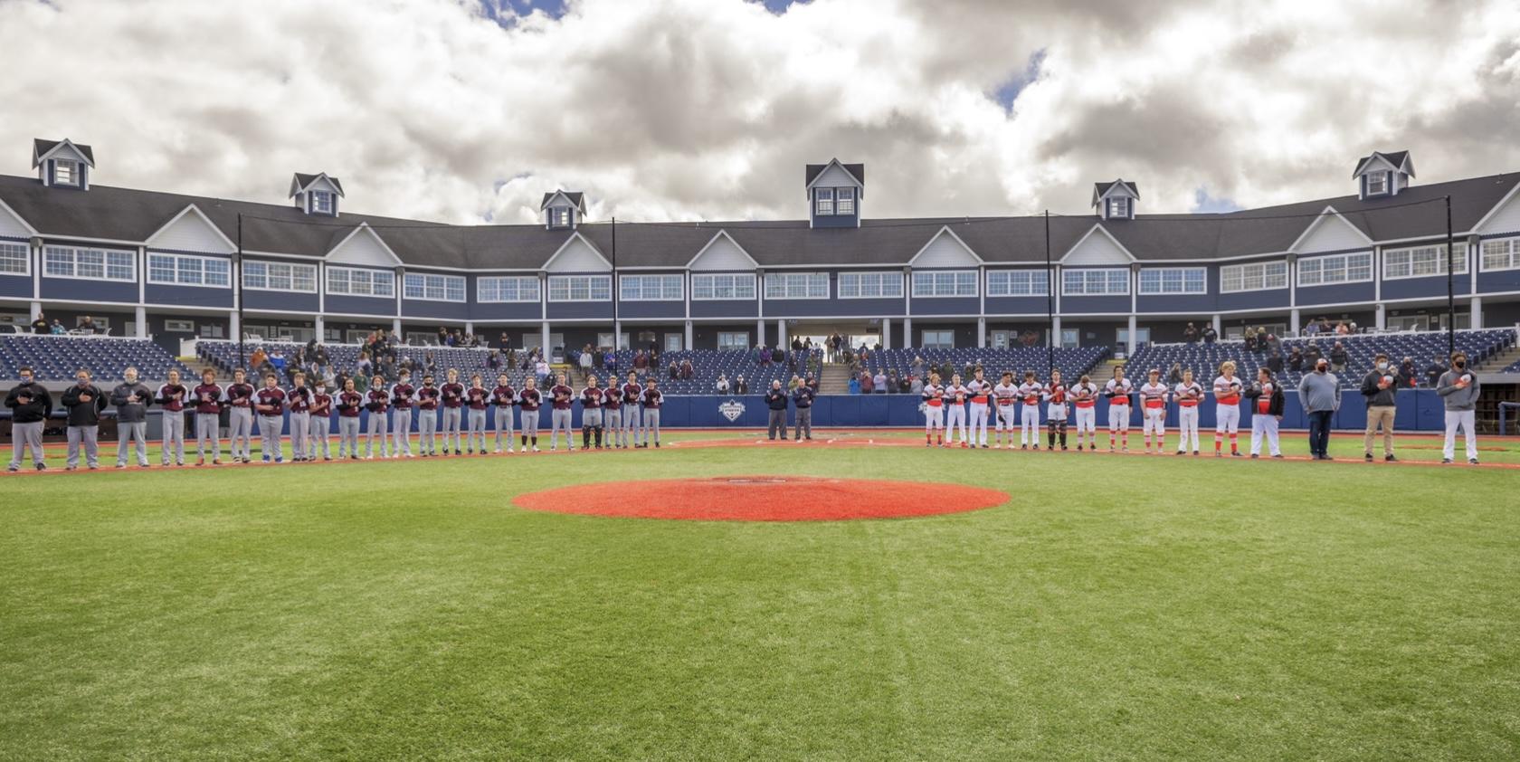 Boys Varsity Baseball falls to Kingsley @ Pit Spitters Stadium