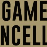 Tuesday, January 22, 2019 – Game Cancellations