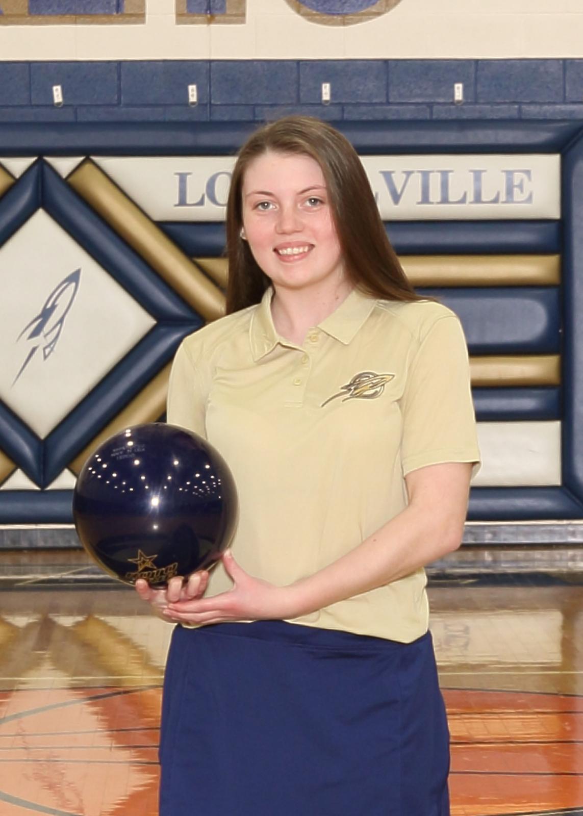 DII Bowling State Qualifier – Senior Haylie Rotz