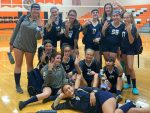 8th Grade Volleyball 4 Wins In A Row!