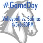 Volleyball vs. Salinas TONIGHT!