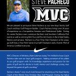 MVC names Steve Pacheco as Boys' Varsity Golf Coach and Program Builder!