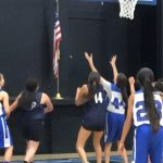 Girls' MS B Basketball defeat Lynscott Charter!