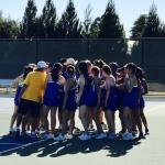 Girls Varsity Tennis beats Alvarez 3 – 4