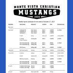 Next Week at Mustang Nation!