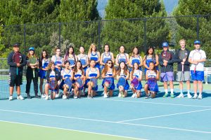 Girls Varsity Tennis Team Pictures