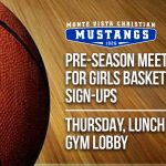 Girls Basketball Pre-Season Meeting