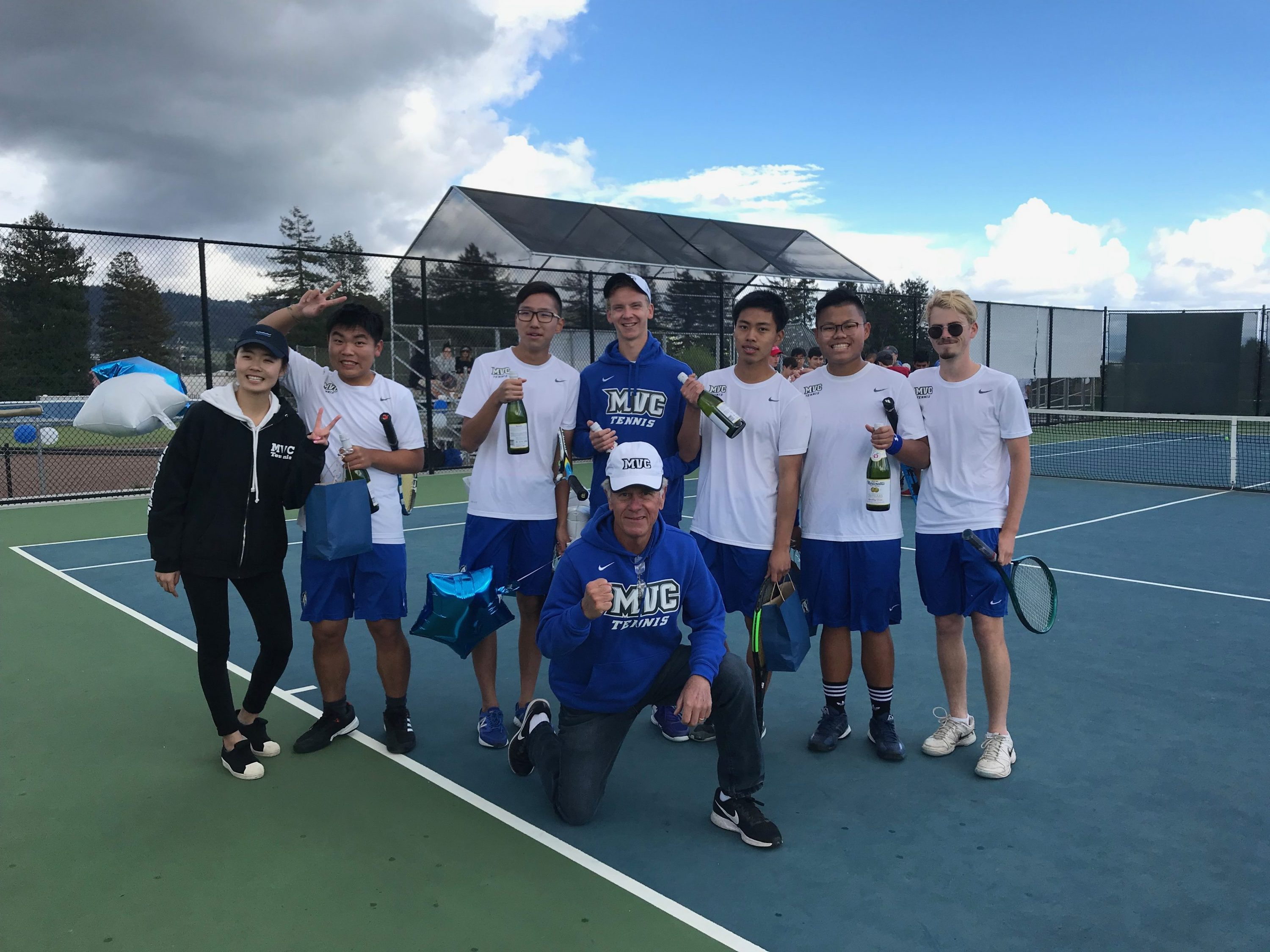 Congrats to our Boys Varsity Tennis Seniors!