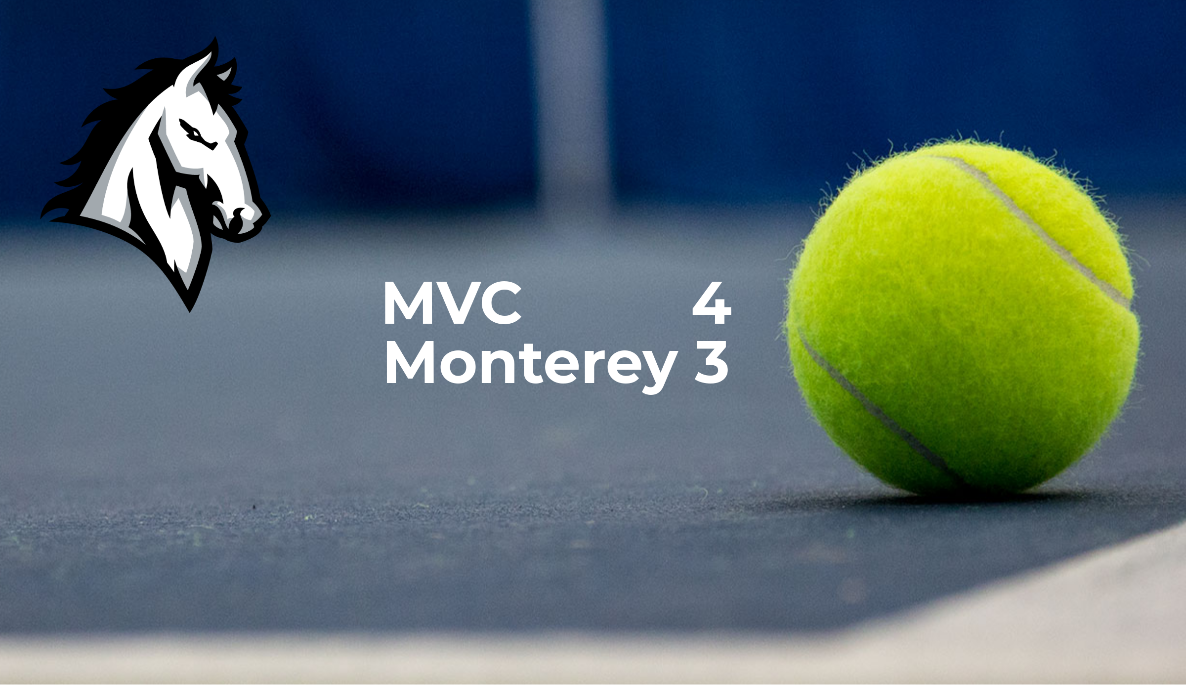 Boys Tennis takes win @ Monterey