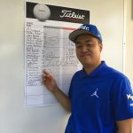 MVC Wins Golf Match, Dennis Yang gets low score