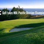 Boys Varsity Golf takes MBL Pacific Division Championship