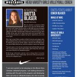 Mustangs hire new Varsity Girls Volleyball Coach and Program Builder!