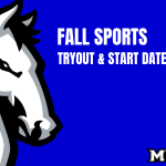 Fall Sports Tryouts and Start Dates