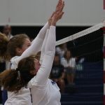 Volleyball Soars for First Win of the Season