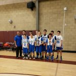 Middle School Mustang Basketball Places 2nd