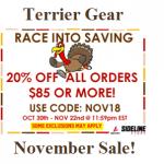 Terrier Gear On SALE