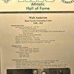 HoF Flashback – Walt Anderson