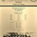 HoF Flashback – 1961 CIFSS Champion Football Team