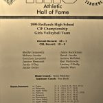 HoF Flashback – 1995 Girls Volleyball CIFSS Champions