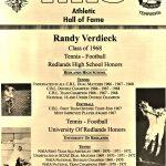 HoF Flashback – Randy Verdieck