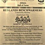 HoF Flashback – Redlands Benchwarmers