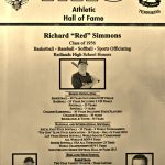 "HoF Flashback – Richard ""Red"" Simmons"
