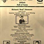 "HoF Flashback – Richard ""Red"" Simmons"
