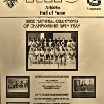HoF Flashback – National Champion Swim Team, 1950