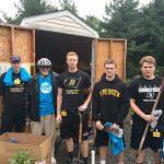 Football Team Volunteers at Longwood