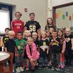 Senior Captains Visit Elementary Schools