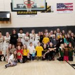 RAA Youth Girls Basketball Attend Lady Raiders Game