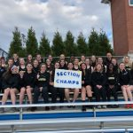 Girls and Boys Varsity Track and Field win Section Title!