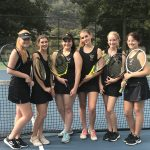 Girls Tennis Closes Out Season with Back to Back Wins