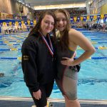 Congratulations Riverview Swimmers Beth Shoop and Caitlyn Moore