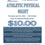 PHYSICAL NIGHT at POPE-April 21st