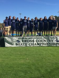 State Cross Country Meet-2016-Boys 2nd