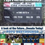 Stadium Scoreboard Project-Help Us By Donating Today!