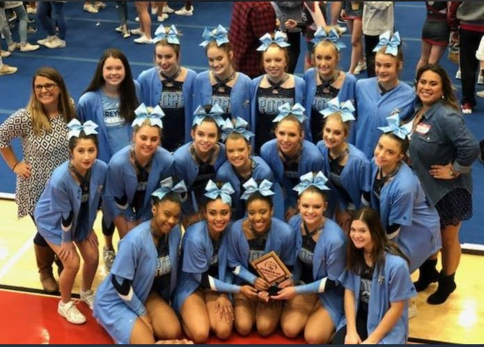 Competition Cheer Finishes 12th at State