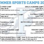 Pope Athletics Summer Camps