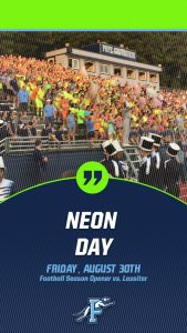Football vs. Lassiter-Neon Night