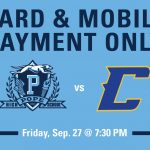 Tickets for Chattahoochee Football Game-Credit Card/Mobile Payment/Sports Passes-BUY ONLINE!