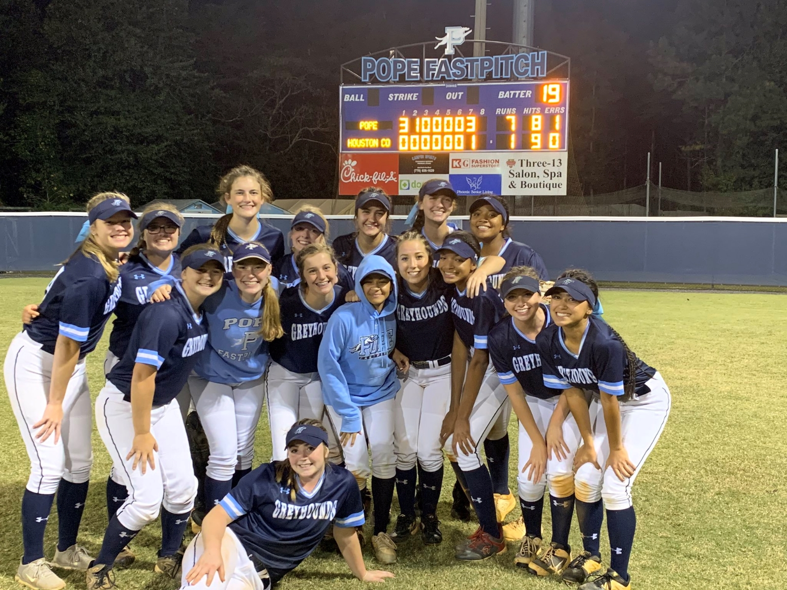 Pope Fastpitch advances to State Finals Tournament