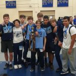 Coed Junior Varsity Wrestling finishes 1st place at Cobb County Tournament